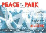 Peace in the Park Flyer Front