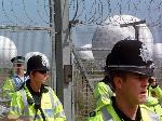 globocops - defending the domes at Menwith Hill