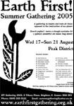 Earth First! Gathering 2005 Poster