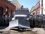 Oaxaca resists - graffiti remembering murdered anarchist journalist Brad Wills
