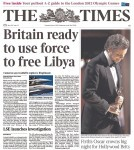 The Times, 1 March 2011
