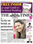 The Times, 23 April 2011