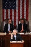 Netanyahu delivers a racist and warmongering speech to US Congress, 24 May 2011