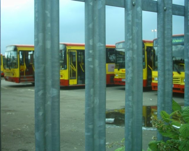 sheffield bus strike 10/06/03