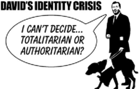 Totalitarian or Authoritarian?