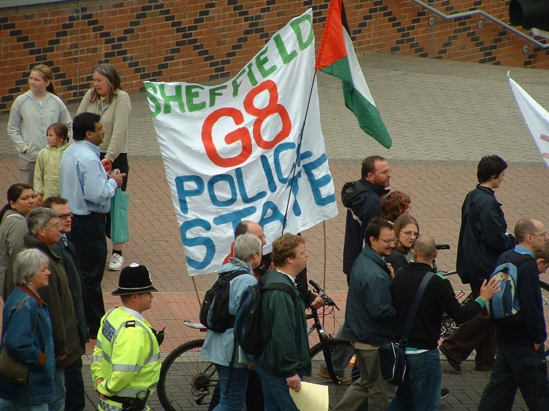 Sheffield G8 - Police State
