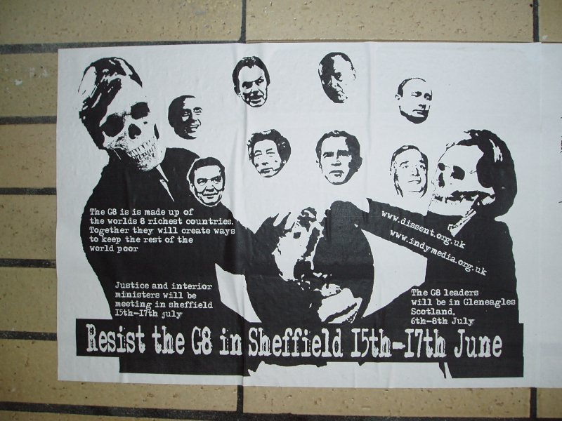 Sheffield Against the G8