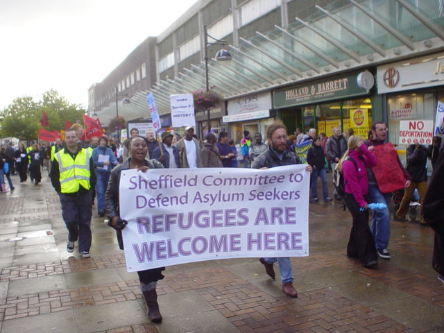 Sheffield Committee to Defend Asylum Seekers - Refugees are Welcome Here