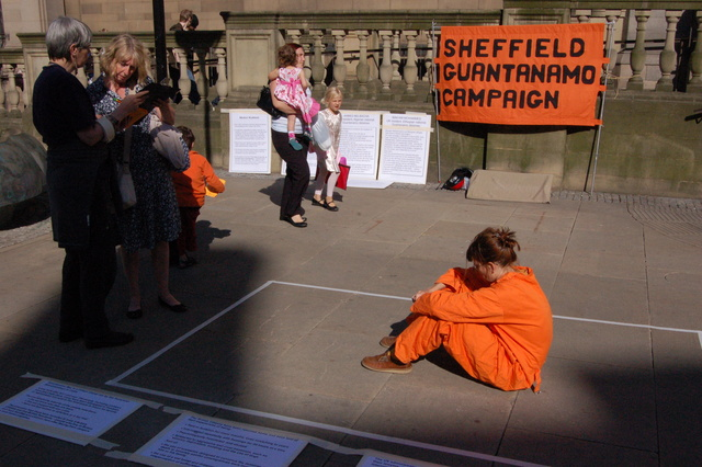 Sheffield 11th June Guantánamo Protest