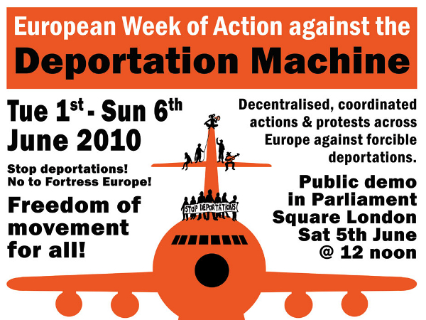week of action against the deportation machine