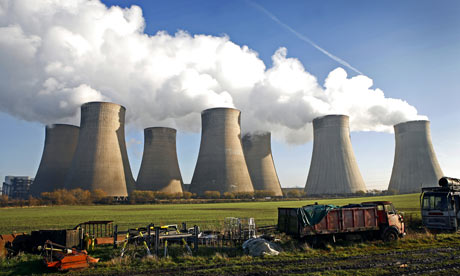 E.on's coal-fired Ratcliffe-on-Soar power station in Nottinghamshire