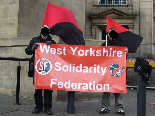 WYSF on Leeds N30 demo
