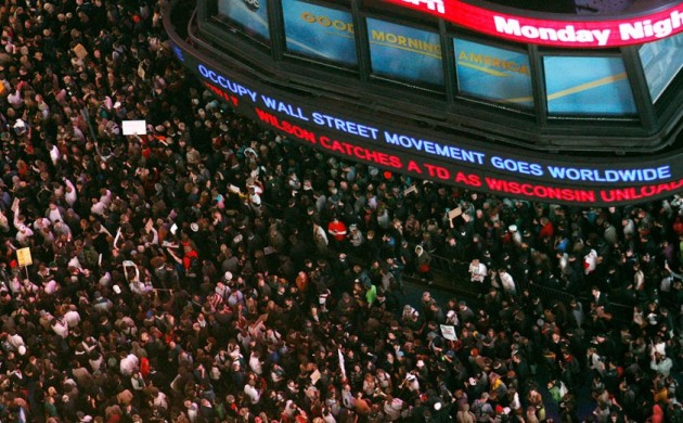 Occupy Wall Street Movement Goes Worldwide