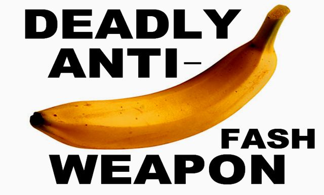 Nazis Go Bananas for Bananas. Give them their Five-A-Day!